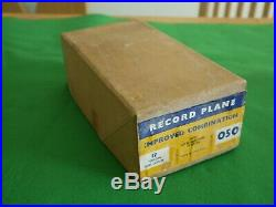 RARE UNUSED! BOXED Record 050 Improved Combination Plane, Full Set Of Cutters