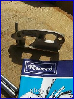RECORD plane, molding, plow plane, No 050C, with 2 sets of cutters & Rods Plough