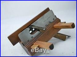Rare Antique Set Plugh Plane Marpless BB Set Ibboston Sorby Cutters Collectable