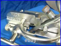 Record 044 plough / rebate plane, full set of 8 new cutters, fully restored