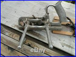 Record 050 Combination Plough Plane with set Cutters