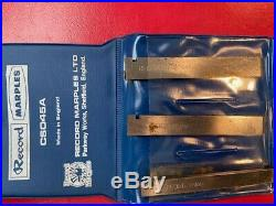 Record Combination Plane Cutters/blades Set Cs045a New