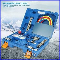 Refrigeration Tool Kit 1/4- 3/4 Expander Refrigeration Tool Set with Pipe/Cutter