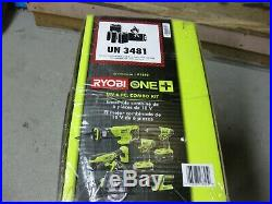 Ryobi one 6 Piece Power Tools Set Kit, Impact Driver, Drill, Saw Cutter, Case