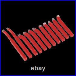 SM3002CS11 Sealey Tools Cutter Set 8 x 8mm 11pc Lathes Lathe Tools