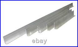 SUPERIOR TILE CUTTER INC. AND TOOLS ST295 Screed Set, L-Shaped, Aluminum, PK5