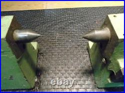 Set of (2pcs) Centers for Tool & Cutter Grinder