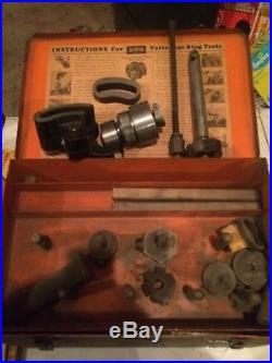 Sioux Valve Seat Ring Tool / Valve Seat Ring Cutter Set with Box