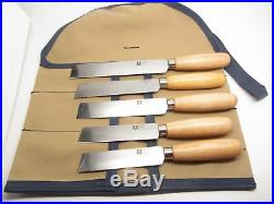 Skiving Knife Leather Specialist Craft Tools Cutting Edge Knife Cutter Set 5pc