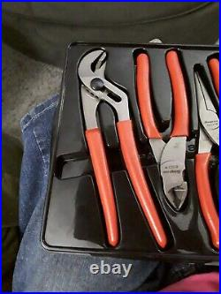 Snap-On (4) Pc Pliers & Cutters Set just sat in tool box