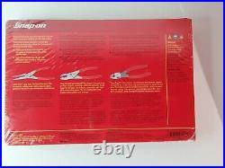 Snap On Tools 3Pc Pliers And Cutter Set Red PL300CF New Sealed In Package