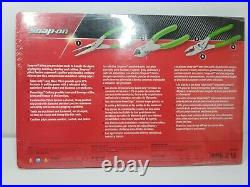 Snap On Tools 3Pc Pliers/Cutter Set PL300CFG New Sealed In Package