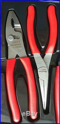 Snap On Tools 4 Piece Pliers/Cutters Set PL400B Mint