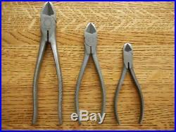 Snap-On Tools Diagonal Cutter Set #85, #86, #87