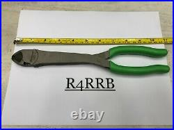 Snap-On Tools USA NEW 2pc GREEN Long Needle Nose Pliers Diagonal Cutter Lot Set