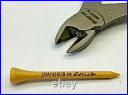Snap-on Tools NEW USA 2pc ORANGE HANDLE Lot Set Diagonal Cutter & Needle Nose