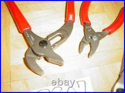 Snap-on Tools New Unused 7 Inch Cutters, Adjustable Joint, 4 Inch Combo