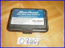 Snap-on Tools Sheet Metal Hole Cutter Kit Ga219b