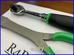 Snap-on Tools USA NEW RARE GREEN DEAL Ratchet HD Cutter Two Piece Combo Lot Set