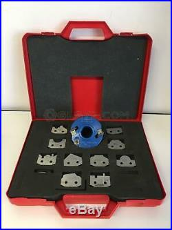 Spindle Moulder Cutter Block With 10 Differente Knives Knife Box Set Used