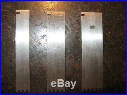 Stanley 55 Optional Cutter Set (Complete 1/8 Reeding Set of 3) N. O. S