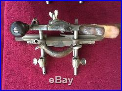 Stanley No. 45 wood planes (set of 3) with cutters and marking gauge