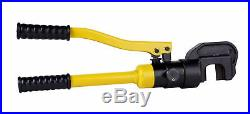 Steel Dragon Tools 22A Handheld Hydraulic Rebar Cutter with Extra Blade Set