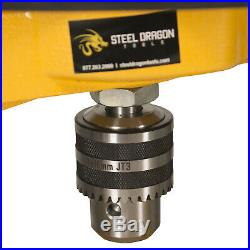 Steel Dragon Tools JK114 Pipe Hole Cutter with 7 Piece Cutter Set to 2-11/16