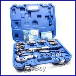 Steel Hydraulic Flaring Pipe Expander Dilator Scraper Cutter Tool Kit Set6-12mm