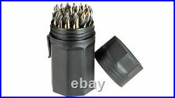 Steel Vision Tools 63106 29 Piece Stepped Cutter Drill Bit Set