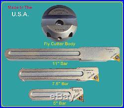 Suburban Tool Fly Cutter 3 Bar Set with R8 Arbor