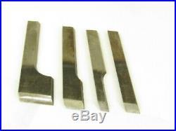 Superb Original Set Of 4 Stanley 444 Plane Cutters Iron Blade Tp311 T6941