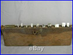 Superb Set Of 9 Millers Patent # 41 42 43 Or 44 Plow Plane Cutters In Box T4294
