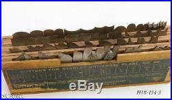 Sweetheart era STANLEY TOOLS 55 CUTTER IRON SET boxes