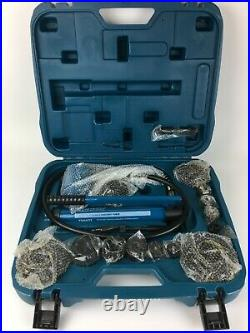 TEMCO 4 inch Hydraulic Knockout Punch Electrical Conduit Hole Cutter Tool Set