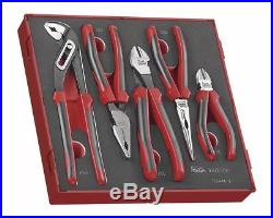Teng Tools 2018 SALE! TED441-T 5Pce Pliers Grip Cutters Tool Set + Foam / Case