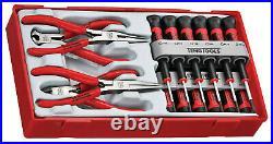 Teng Tools T4 SALE! 16 Piece Screwdriver Side Cutter Long Nose Pliers Set