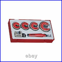 Teng Tools TTTC06 6 Piece Pipe Cutter and Deburring Set