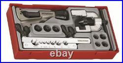 Teng Tools TTTF10 Pipe Flaring Tool Set (Cutter, 7x Adaptors + 2pc Flaring Set)