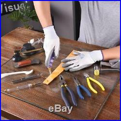 Tool Set/Kits for Mosaic Tile &Stained Glass /W Cutters/Pliers/Square/Hammer/FID