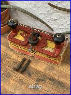 Tyzack Router Plane Complete W Box Full Set Of Cutters Like Preston 1399P Rare
