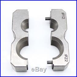 Universal Hydraulic Flaring Tool Set Steel Pipe Fuel Line Kit WK-400 + Cutter US