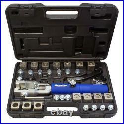 Universal hydra flaring tool set with tube cutter Mastercool MAS72475PRC