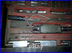 VAN NORMAN BORING BAR TOOL KIT 777s 944s Cutter Bits Catspaw Shoes TOOLING SET