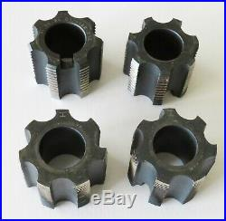 Var 380 Bottom Bracket Tap set. Includes English and Italian cutters. Excellent
