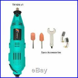 Variable Speed Rotary Tool Kit Set Grinder Cutter Accessories Mini Drill Bit NEW