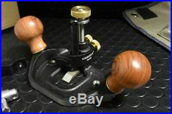 Veritas Large Router Plane with Fence Plus a Full Set of Cutters