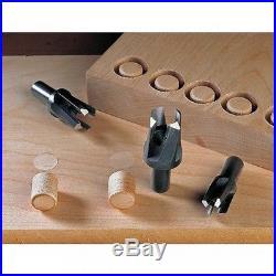 Veritas Tapered Metric Snug Plug Cutter Set 510269 05J05.50