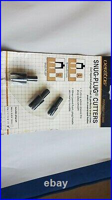 Veritas Tepered Tenon Cutters 3/8 1/2 5/8 +Variable Burnisher+ Plug Cutters set