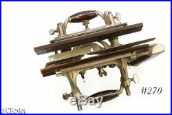 Very nice shape older STANLEY TOOLS 55 PLOW combination plane w cutter set